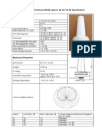 Specification Antenna M102