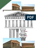 Tipos de columnas griegas