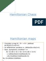 Hamiltonian Chaos