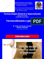Obstetricia Farmacodinamia Medicina