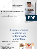 bacterias que dañan a los alimentos..pptx