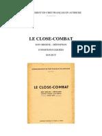 Plaquette Close Combat