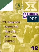 Estudios Marxistas No. 12, 1976 - Categorización Del Campesinado Colombiano