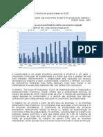 O declínio da produtividade na OCDE