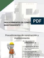 Cuestionario Procedimientos de Construcción y Mantenimiento