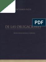 De Las Obligaciones - Rene Ramos Pazos