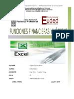 Tarea 7 y 8 Funciones Financieras