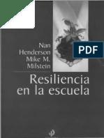 Resiliencia en la Escuela