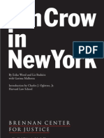 Jim Crow in NY