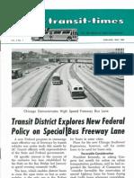 Transit Times Volume 5, Number 1