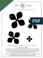 Paper Dahlia - Flower Template