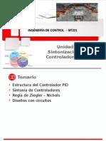 MT221 Unidad 5 Sintonía de Controladores PID