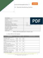 Annex 19 - RSM Remote Monitoring System PM & CM Check List- V1.0