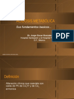 Acidosis Metabolica Basicos
