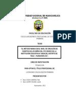 Caratula Del Informe Final