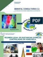 Sustancias Quimicas Controladas Ciec Sep 2013