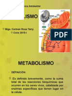 Clase 7 de Bioquimica Metabolismo 2015-i
