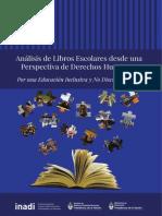 Analisis Libros Escolares Perspectiva Derechos Humanos