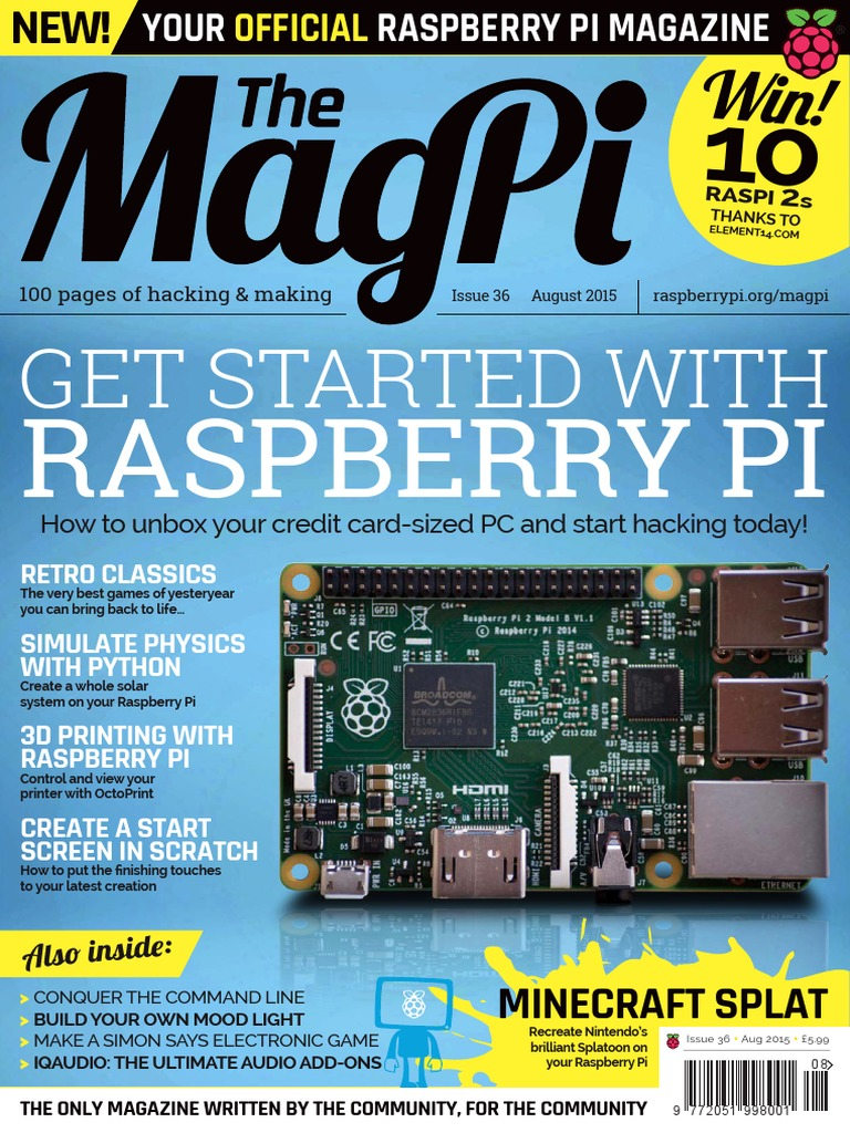 MagPi36.pdf | Raspberry Pi | Icon (Computing)