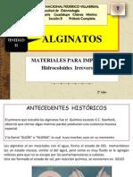 Unidad II Alginatos - Copia