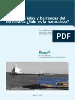 Stancich Erosión de Islas y Barrancas Del Río Parana