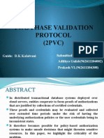 2PVC - Two Phase Validation and Commit Protocol for Secured Cloud Transactions