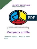 Rcs Company Profile