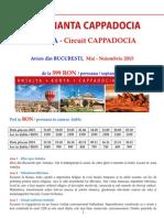 circuit turcia - cappadocia - avion bucuresti mai -  noiembrie 2015.doc