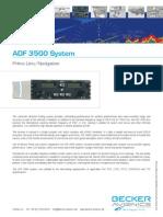Datasheet ADF-3502 PrimeLine Navigation 05Juni09