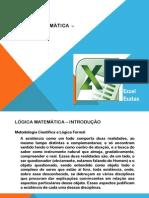 Lógica Matemática - Introdução
