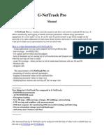 G-NetTrack Pro Manual