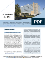 Bulletin du TSL- Juillet 2015