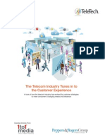White Paper Telecom Industry Tunes Customer Experience