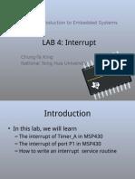 Lab04 Interrupt