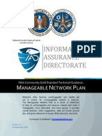 Manageable Network Plan