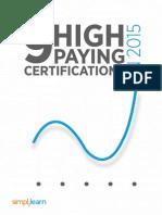 Top 9 Certifications By Simplilearn