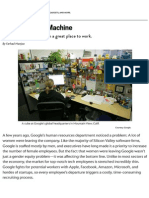 Google People Operations_ the Secrets of the World's Most Scientific Human Resources Department