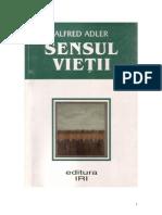 Sensul vietii - Alfred Adler.pdf