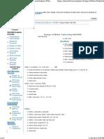Design of Water Tank Using SAP2000 - Structural Analysis of Water Tank