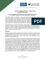 Advantages IFAT ICS Environment BMcD FGS