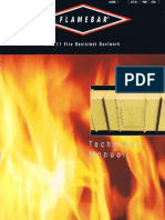Technical Manual Fire Resistant Ductwork