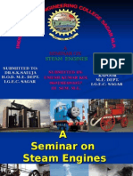 Seminar on Steam Engine