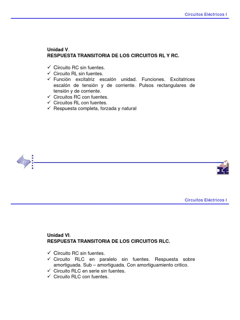 Circuito Rl : Transitorios rl rc pdf