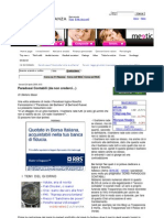 Yahoo Finanza 24 Aprile 2009 - Paradossi Contabili