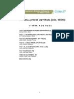 Util Para Historia de Roma Y Antigua de La Uned Manualroma
