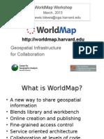 WorldMap Training March 8 Slides