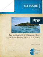 Tax-motivated illicit financial flows