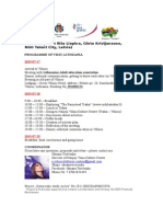programme of lt visit