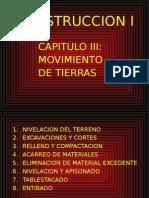3.1.- Construccion I-cap III - Movimiento de Tierras