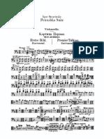 Stravinsky - Petrushka Suite (Cello)